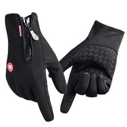 Женщины Мужчины Лыжные перчатки Марка Сноуборд Перчатки Новый прибывший Unisex Мотоцикл Верховая езда Зимний сенсорный экран Снег Windstopper Перчатка Оптовая