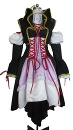 Wholesale women s dragon costume resale online - Vocaloid Sandplay Singing of The Dragon Haku Cosplay Costume Deluxe Version E001