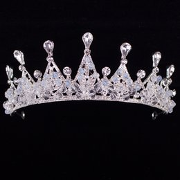 $enCountryForm.capitalKeyWord NZ - Rhinestone An crown Hair ornament Bride marry gules Head ornaments accessories veils designer accessories for women beach wedding dresses