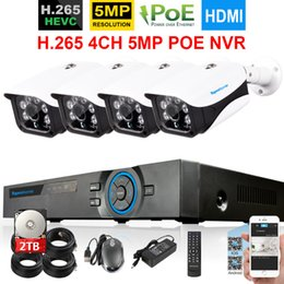 $enCountryForm.capitalKeyWord Australia - H.265 4CH POE 5MP NVR System With 4pcs 48V 5Mp 2592X1944 Security Outdoor Onvif POE IP Camera 4CH CCTV Video Surveillance kit 2t