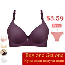 $enCountryForm.capitalKeyWord NZ - B C Cup Wire Free Bra For Women Ladies 2018 Breathable Sexy Underwear Female Fashion Push Up Bra Deep-V Wireless Wholesale