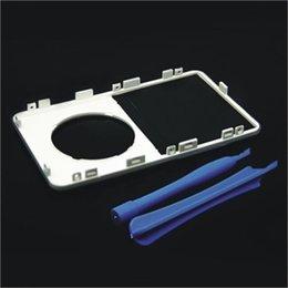 Белый цвет Пластиковая передняя крышка корпуса Корпус Shell с объективом для iPod 5-го поколения Видео 30GB 60GB 80GB