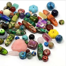 $enCountryForm.capitalKeyWord Canada - Pandahall 200g Natural Stone Beads Semi-precious Stone DIY Spacer Beads For Jewelry Making Findings Supplies Craft Mixed Shape