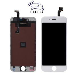 Iphone Screen Testing NZ - OEM Quality For iPhone 6 6G 6plus LCD Display Touch Screen Replacement with Full Assembly Tested Black&White