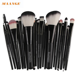 online shopping Best Deal MAANGE Professional pc Women Cosmetic Makeup Brush Blusher Eye Shadow Brushes Set Kit Pinceau de maquillage for gift