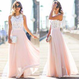 c095ea030026 Women Sexy Summer Dress Boho Maxi Long Patchwork Sleeveless Party Beach  Dress Sundress Women Clothing