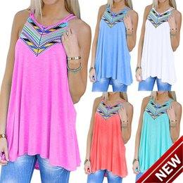 Stock Clothes Winter Australia - Goods In Stock ! 2018 Summer Easy Printing Camisole Vest T Pity casual dresses woman for women 2015 clothes clothing ladies maxi long white