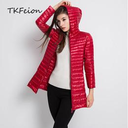 $enCountryForm.capitalKeyWord Canada - Womens Autumn Jackets 2018 Winter Female Fashion Hooded Outwear Lightweight Ladies Elegant Slim Duck Down Coat Plus Size 5XL 6XL