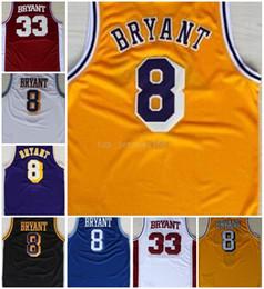Free Shipping Men Basketball Jerseys Kobe Bryant Jersey City Version 8 33  Bryant Black Mamba Jersey Swingman 100% Stitched Jerseys College 9d2173c14