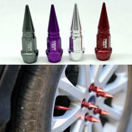 4 pçs / lote Car Acessórios Blox Lug nuts estilo Roda Pneu Válvulas Pneus Stem Air Caps Capa case Para Carro Universal em Promoção
