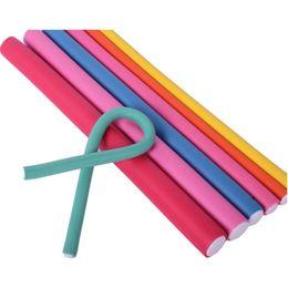 $enCountryForm.capitalKeyWord UK - 30pcs Curler Makers Soft Hair Curlers Tools Foam Bendy Twist Curls Tool DIY Styling Plastic Hair Rollers Styling Tools