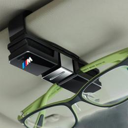 Venta al por mayor de Doble gafas de sol Sujetador Clip Bill Card Note Holder para BMW E46 E39 E90 E36 F30 F10 X5 E35 E34 E30 F20 E60 F11 F34 Z4 X1 X3 X5