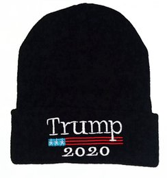 Donald Trump Election President Make America Great gain 2020 Beanies Acrylic Knit Winter Hats For Adults Snow Slouchy Caps from wholesale bulbs for sale manufacturers