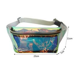 Wholesale Pillow Packs Australia - Hot Sell Women Girls Laser Waist Fanny Pack Belt Waist Bag Chest Bags Purse Wallet Phone Pouch