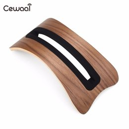 China Cewaal Durable Wooden Desk Display Rack Holder for Macbook Air Pro Laptop cheap air pro laptop suppliers
