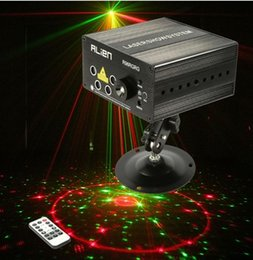 laser stage lens NZ - New Arrival Professional Stage Lighting 5 Lens RG Home Entertainment Mini Disco Lamps for Motorcycles DJ Laser Lights For Sale