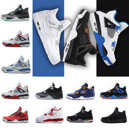 cheap basketball shoes for men Canada - New arrived Cheap hight quality waterproof 4 men basketball shoes all white cheap Basketball Men Athletic Shoes for sale Szie 8.0-13