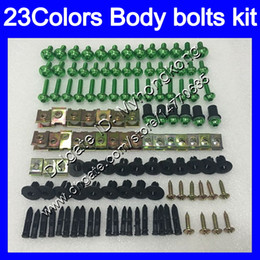 Rs 125 abs faiRing kit online shopping - Fairing bolts full screw kit For Aprilia RS4 RS125 RS Body Nuts screws nut bolt kit Colors