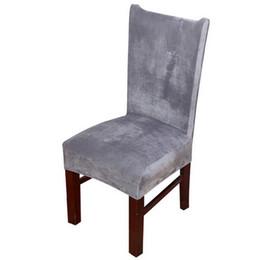 2 шт./лот утолщаются крышка стула сиденья стрейч крышка стула столовая протектор сиденья съемный чехол для дома свадебный стул поставки YF0001
