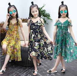 Discount teens summer clothes - Girls Dress Bohemian Summer Dress For Girls 2018 Casual Girls Beach Sundress Teenage Kids Teen Clothes 6 8 10 12 Year