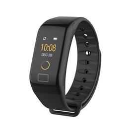 Discount smart watch f1 - F1 Plus F601 Smart Wristband Blood Pressure Bracelet Watch Heart Rate Monitor Smart Band Health Fitness Tracker for Andr