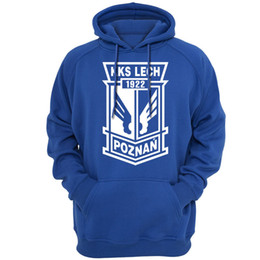 China Casual Apparel Poland Lech Poznan FC club Hoodies Sweatshirts Men Spring autumn season Lightweight Hooded Hoody clothing 69 supplier club clothing suppliers