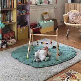 Baby S Beds NZ - Ins creative cotton leaf shape Baby Blanket Game Mat Kid Crawling Carpet children 's home decor baby Bedding Stroller Blanket
