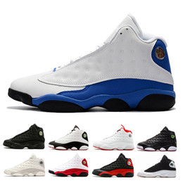 0174c605ee5 2018 13 mens Basketball shoes He Got Game Phantom Black Cat bred Chicago Hyper  Royal Italy Blue DMP Love Respect sports Sneaker Altitude