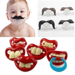 $enCountryForm.capitalKeyWord Canada - Silicone Funny Nipple Dummy Baby Soother Joke Prank Toddler Pacy Orthodontic Nipples Teether Baby Pacifier Christmas Gift