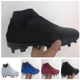 Discount soccer series - 2018 new men Phantom Vision Academy MG Shadow Series High Soccer shoes,Training Sneakers,studded cleated football boots,