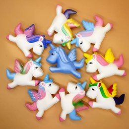 $enCountryForm.capitalKeyWord NZ - 11CM Jumbo Squishy Kawaii Unicorn Pegasus Soft Slow Rising Stretchy Squeeze Kid Toys Relieve Stress Bauble Children's Day Gifts