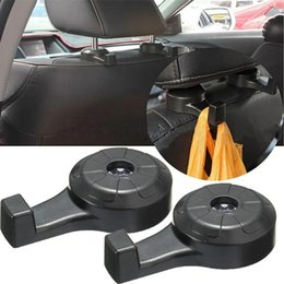 Discount car interior hooks - 2Pcs Universal Car Truck Suv Seat Back Hanger Organizer Hook Headrest Holder Backrest hook for car Interior Accessories