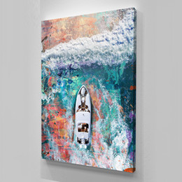"$enCountryForm.capitalKeyWord UK - Unframed ""Big Yachty"",Alec Monopoly Oil Painting, on Canvas Graffiti art wall decor,Office decoration, commercial decoration"