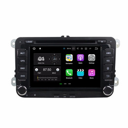 "vw passat gps radio android UK - Quad Core 2 din 7"" Android 7.1 Car DVD Player for Volkswagen VW Golf Passat MK5 6 Polo Jetta Tiguan Caddy CC Skoda Fabia Octavia"