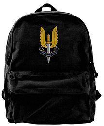 Sas Laptop Australia - Sas Fashion Canvas Shoulder Backpack For Men & Women Teens College Travel Daypack Knapsack Laptop Designer bag