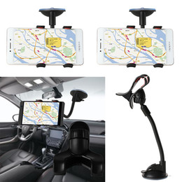 China 1 Pcs Car Phone Holder Sucker Mount Bracket Stand 360 Degree Rotation Long Arm Windshield With Suction Cup For iPhone Samsung H suppliers