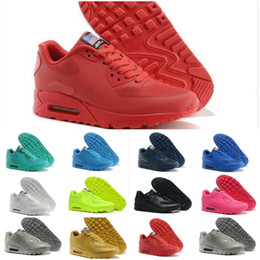 edea30ee0fd Factory Outlet 2017 Original Mens 90 HYP PRM Qs Sneakers Independence Day  Man Casual Running Shoes Zapatillas Usa Flag Size 40-46