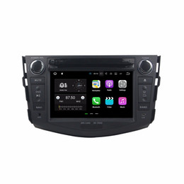 Car mp4 player 2gb online shopping - 2GB RAM Quad Core din quot Android Car DVD Player for Toyota RAV4 With GPS Radio Bluetooth WIFI GB ROM USB DVR