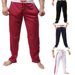 wholesale pants for men 2019 - Men's Pants Autumn Sweat Trousers Long Elastic Pants For Men Boys Bottoms Workout Casual Tracksuit cheap wholesale