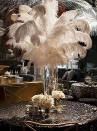 $enCountryForm.capitalKeyWord Australia - Ostrich Feather Plumes for Wedding Centerpiece Table Party Desktop decoration beautiful feathers DIY Party Decorative wholesale High qualit