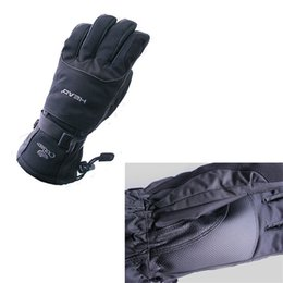 Leather Gloves For Men Australia - 1pair Winter Ski Riding Bike Gloves For Men Keep Warm Non Slip Design Glove Practical Wear Resisting Mittens Wind Proof 33fj ZZ