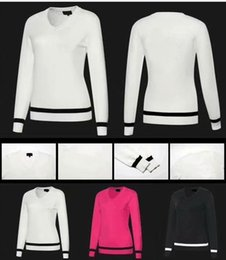 White Rabbit Hair Australia - 2017 PX sweater for women golf winter keep warm rabbit hair smooth touching woollen sweater 3 color OEM available