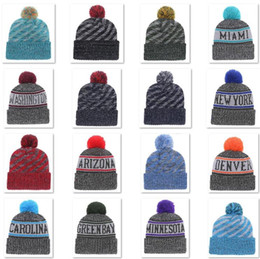 b3d175abd 2018 New Arrival Beanies Hats American Football 32 teams Beanies Sports  winter knit caps Beanie Skullies Knitted Hats drop shippping B08