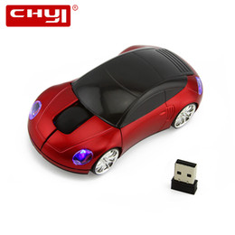 e76529f41bc wireless Wireless Car Shape Computer Mice Mause Super 2.4Ghz With Flashing  LED Light Sem Fio Mouse for Netbook Laptop Gaming