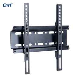 Tv wall frame online shopping - CNYF Universal TV Wall Mount Bracket Fixed Flat Panel TV Frame for Inch LCD LED Monitor Flat Panel