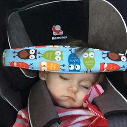 Hot Creative Auto Car Vehicle Seat Headrest Kids Children Outdoor Short Term Travel Sleeping Head Support Pad Pillow Styling