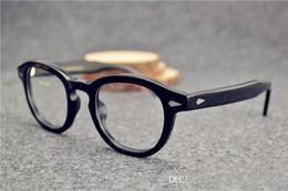 8e904f96c59 Discount johnny depp eyeglasses brand - 2017 Sunglasses Frames johnny depp  glasses top Quality brand round
