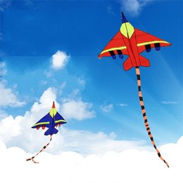cloth toys patterns 2018 - Cartoon Aircraft Kite Large Triangle Kites Are Popular Among Adult Children Easy To Fly New Pattern Product 8 5yc W chea