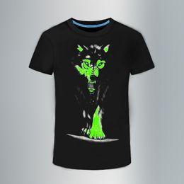 $enCountryForm.capitalKeyWord NZ - 2018 New 3D t-shirt men Leisure Fluorescent Personalized Short-sleeve Luminous Tee Shirt Summer Tops Men T-shirt light clothes
