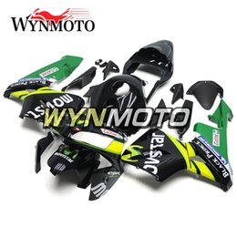 Honda F5 Canada - For Honda CBR600RR F5 Year 2003-2004 03-04 Complete Fairing Kit Body Kit Motorcycle Body Kit Green Yellow Bodywork ABS Injection Cowling